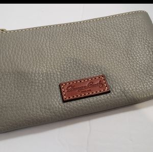 Dooney & Burke Grey Wallet..